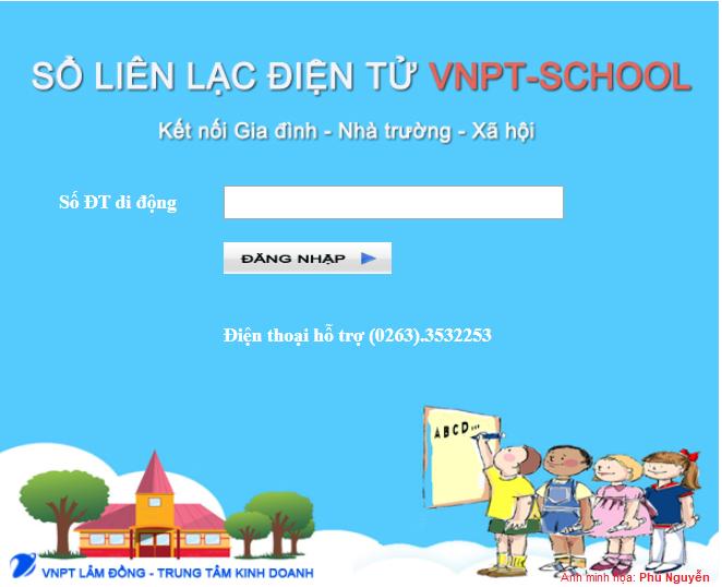 Cách tra cứu VNPT School