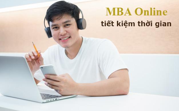 Học MBA online tiết kiệm được thời gian trau dồi kiến thức