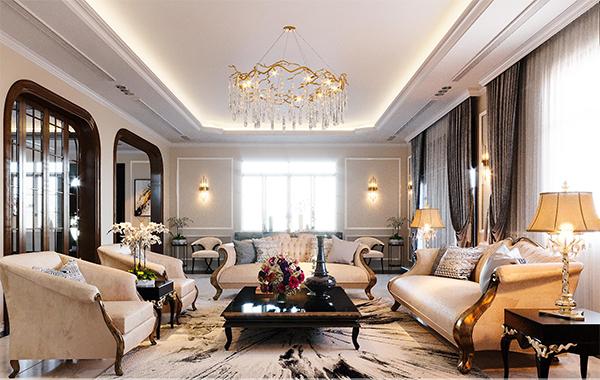 Thiết kế nội thất biệt thự cần chú ý đến những vấn đề gì?